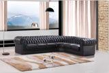 Hauptmöbel-Chesterfield-Sofa mit echtem Leder