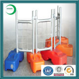 Alto Security Temporary Fence Panel con Plastic Concrete Block