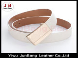 Dame Fashionable Flat Buckle PU Riem