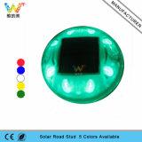 Parafuso prisioneiro solar de piscamento da estrada do diodo emissor de luz do olho de gato do refletor do azul 3m