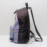 Black Nylon Bambi Pattern Casual Backpack Bag (A072)