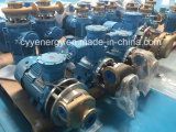Bomba centrífuga criogênica da água do petróleo do argônio do nitrogênio do oxigênio líquido