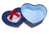 Caja de regalo modificada para requisitos particulares alta calidad del papel de la forma del corazón de Hacer-en-China