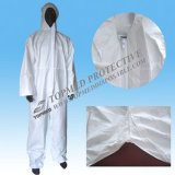 Hood와 Shoe Cover를 가진 Topmed Hot Sale Disposable Coverall