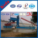 Barco de dragado del oro de Keda