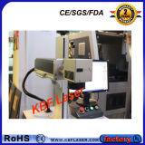 grabador del laser de la máquina de la fibra 20W para la marca del color