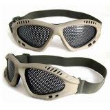 Anteojos de la protección del acoplamiento del metal de Airsoft