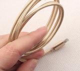El nilón aisló el cable del USB de 8 Pin para Samsung y el iPhone de la fábrica de China