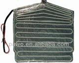Le réfrigérateur partie des éléments de chaufferette de plaque de chaufferette de papier d'aluminium