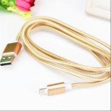 Bestes Verkaufs-Nylon isolierte der 8 Pin-Blitz USB-Kabel für Apple iPhone