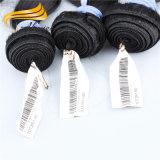 Cabelo brasileiro livre do emaranhado da venda por atacado do cabelo de Alimina pelo pacote