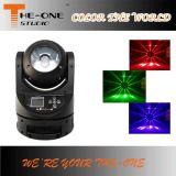 Luz principal móvil del punto principal móvil del Gobo 60W LED de DJ del disco mini