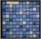中国人の供給の高品質のプールのための青いガラスモザイク・タイルのガラスモザイク模様