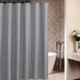 Plaid gedruckter Polyester-Gewebe-Badezimmer-Duschvorhang für Hotel (18S0060)