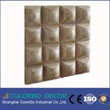 Деревянная декоративная акустическая панель стены диффузии для ядровой абсорбциы