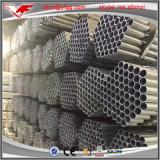 Galvanizado 40 G/M2 2 pulgadas pre galvanizadas alrededor del tubo de acero soldado