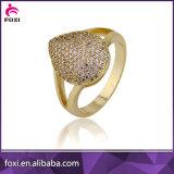 中国の卸し売り方法熱い販売CZの金は宝石類セットをめっきした