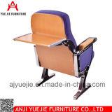 Morden 백지장 Yj1209를 가진 공중 자주색 직물 강당 의자