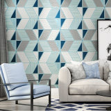 PVC Wallcovering, papel de empapelar del PVC, tela moderna de la pared del PVC del estilo, papel pintado del PVC