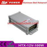 bloc d'alimentation antipluie de l'interpréteur de commandes interactif en aluminium continuel DEL de la tension 12V-100W
