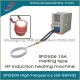 1m Kabel-Ring-Induktions-Heizungs-Maschine 15kw 30-100kHz Spg50K-15b