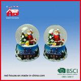 100mm Christmas Snow Globe Water Globe Customized Snow Globe