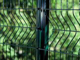 Горяч-Окунутая гальванизированная загородка ячеистой сети