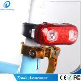 Indicatore luminoso d'avvertimento di riciclaggio della coda del LED della bicicletta ricaricabile della bici