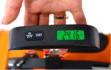 110 libras con la escala del sensor de temperatura y del equipaje de la función de la vicia
