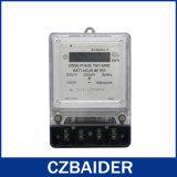 De eenfasige Elektronische Plastic Basis van de Meter van het Voltage van de Energie van de Macht van Watts (DDS2111)