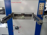 Automatische stempelschneidene und faltende Maschine mit dem Entfernen