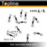 eslabón giratorio de la pesca del eslabón giratorio del balanceo 1000PCS/Lot