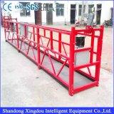 Capacidad de carga útil suspendida de la plataforma de funcionamiento Zlp500 500kg