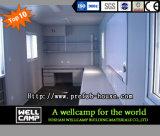 Casa prefabricada de dos pisos del envase de la oficina de Wellcamp