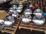 Vanne à bille en acier au carbone avec bride à anneaux ANSI