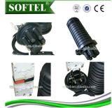 Закрытия соединения оптического волокна купола закрытия волокна кабеля FTTX закрытие оптического совместное соединяя