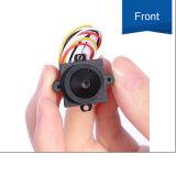 cámaras de seguridad tamaño pequeño inferiores del vídeo del CCTV de la lente 90deg del lux de 4-24V 520tvl HD 0.008