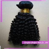 Extensões Curly Kinky africanas de trama dobro do cabelo do russo