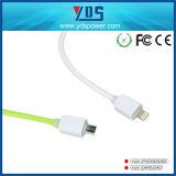 cable del USB del cargador del teléfono móvil de la longitud de los 20cm