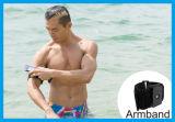 防水袋の電話連続した腕章が付いている電話のためのスポーツの腕章