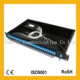 """19 """" fibra Rack-Mount Mux/Demux ottico CWDM con il modulo dello SFP"""