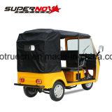 De goedkope Elektrische Driewieler van de Passagier van de Wijze met Ce