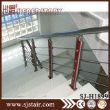 AISI 304屋内階段手すりのステンレス鋼の鉄道システム(SJ-813)