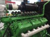 Conjunto de generador industrial del biogás de los generadores Lvhuan 200kw para la cría de animales y el ganado del terraplén de los desperdicios que crían Delaction refrigerado por agua para la central eléctrica
