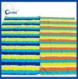 Быстро сухая замша Microfiber резвится полотенце пляжа (QHAC5561)