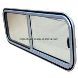 Подгонянное алюминиевое сползая окно для яхты/маленькой лодки