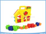 Puzzlespiel blockt Spielwaren-Haus-pädagogische Spielwaren