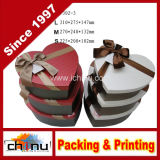 Regalo Box Set, Cuore-Shape Nesting Boxes, Set di 3 Nested Decorative Boxes, 1 Set di 3 Nested Boxes (110004)
