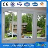 普及した粉のコーティングの白い開き窓アルミニウムWindows
