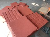 30mm Stärken-Gummifußboden-Fliese-Spielplatz-Tragen-Beständige Gummifliese